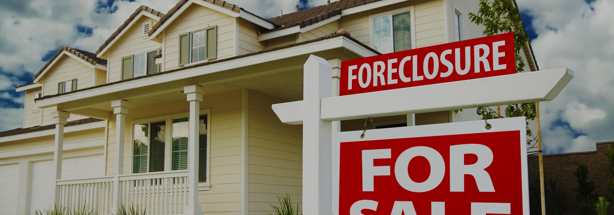 Property going to be foreclosed?
